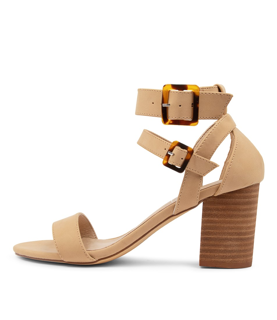 Buy Therapy Elowen Th Cashew Heeled Sandals online with free shipping