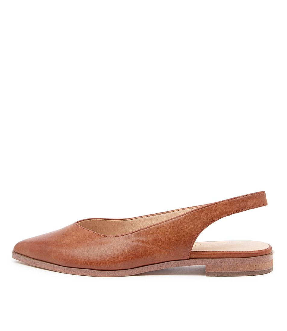 Buy Therapy Chrissy Th Tan Flats online with free shipping