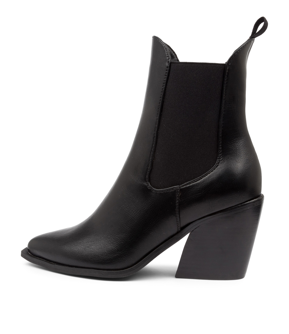 Buy Therapy Josette Th Black Dress Ankle Boots online with free shipping