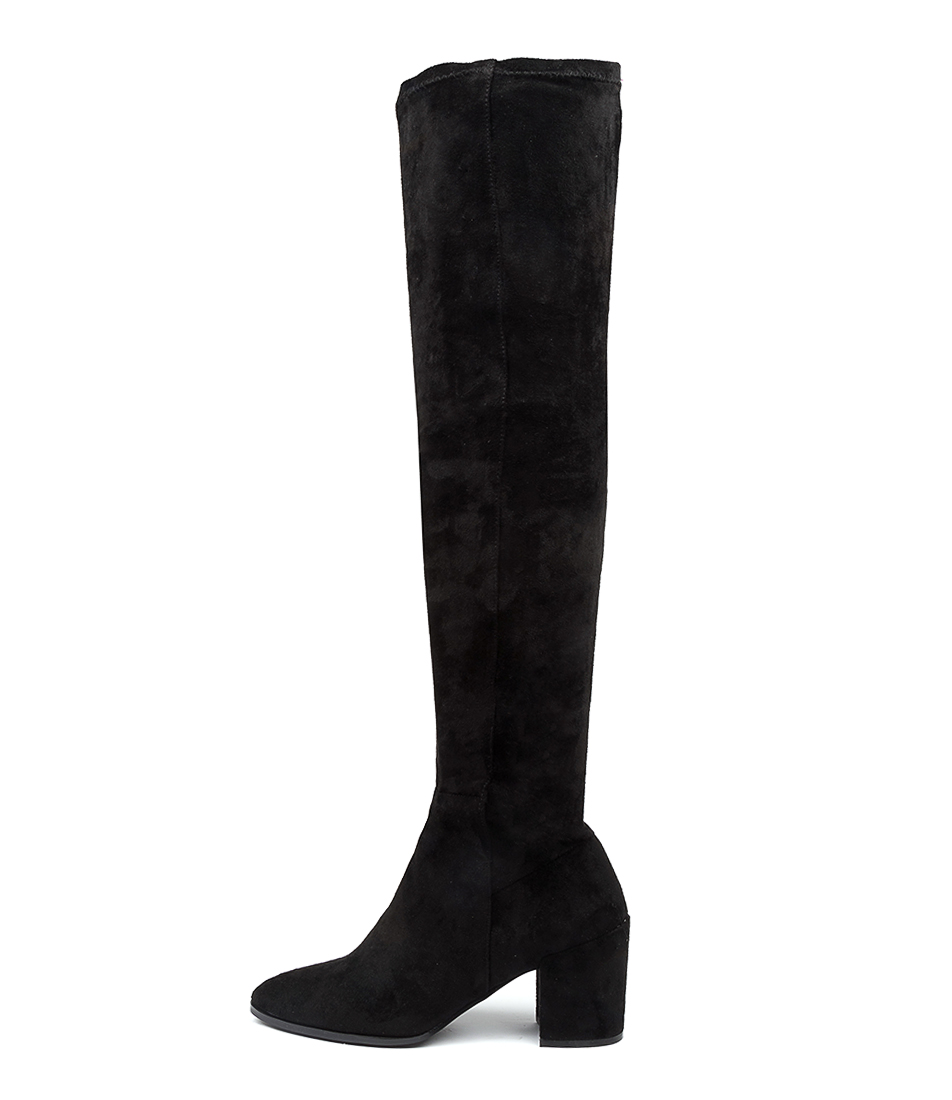 Buy Therapy Misha Th Black Long Boots online with free shipping