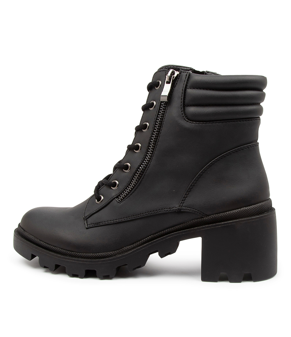 Buy Therapy Ryder Th Black Ankle Boots online with free shipping