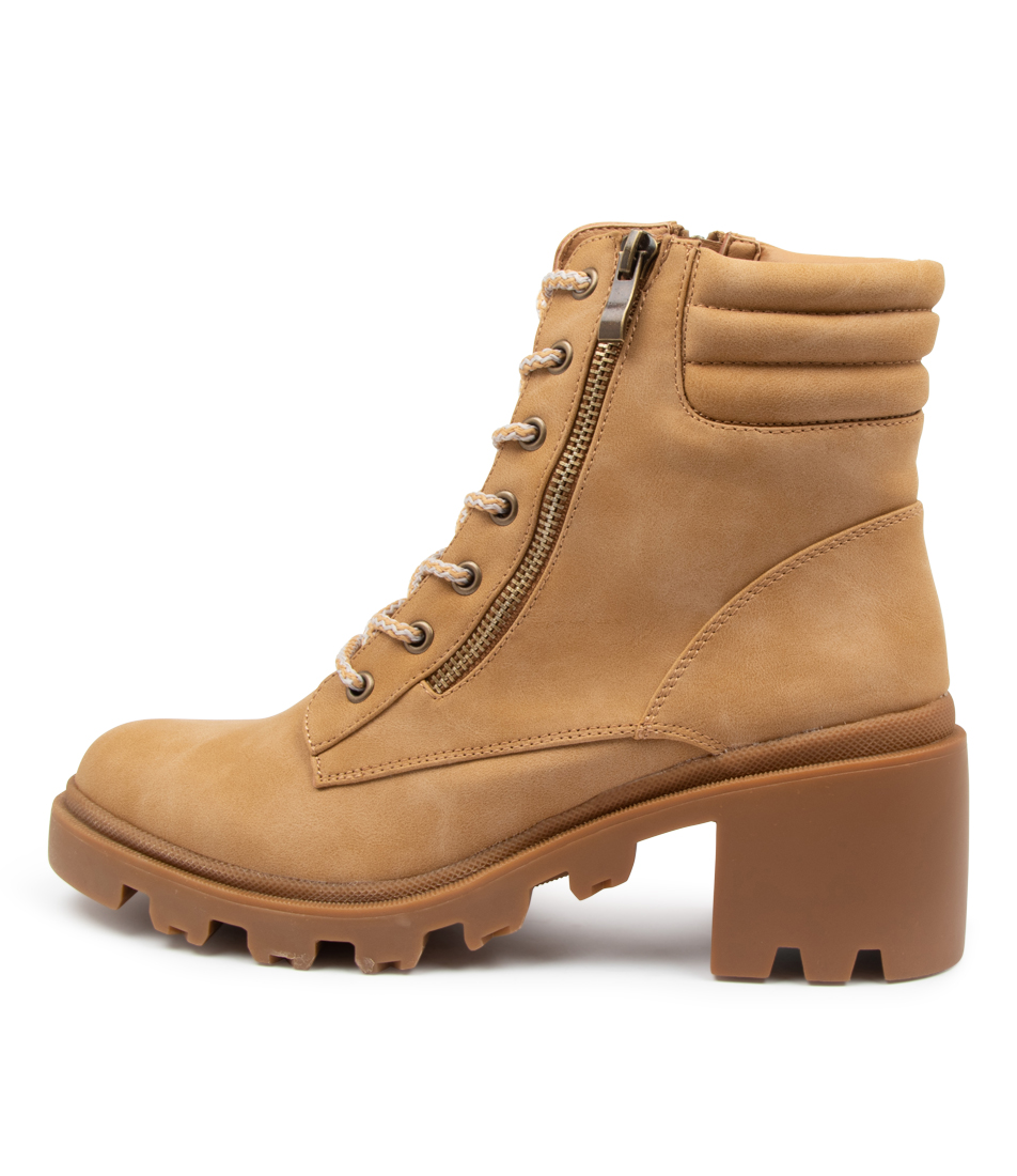 Buy Therapy Ryder Th Camel Ankle Boots online with free shipping