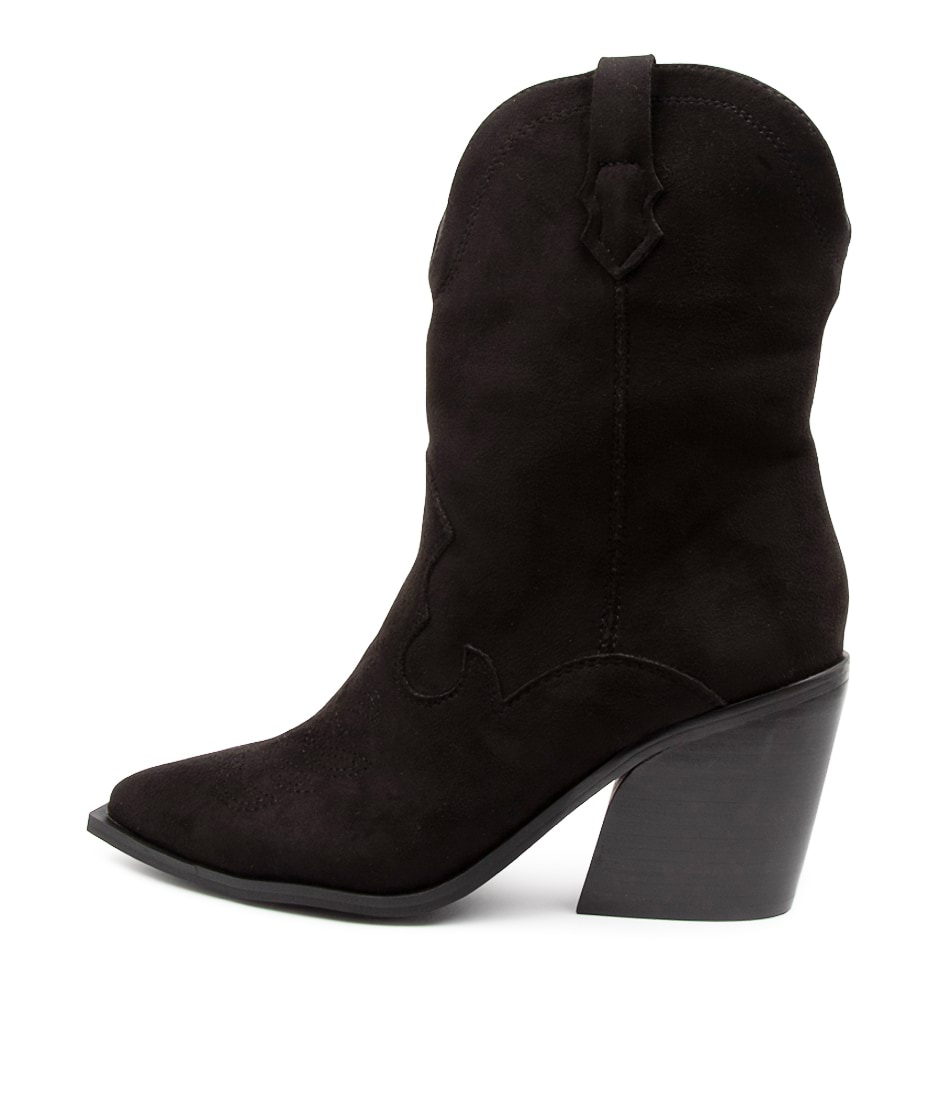 Buy Therapy Millie Th Black Calf Boots online with free shipping