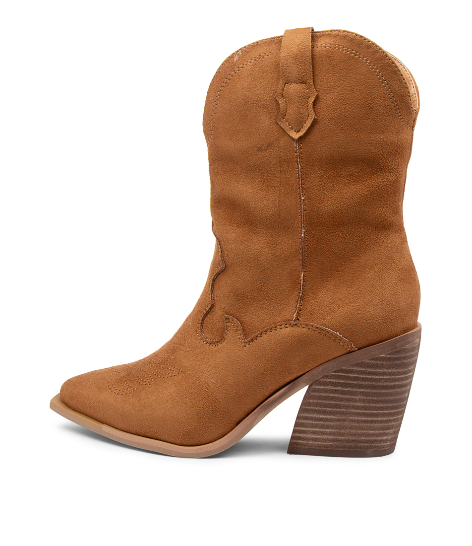 Buy Therapy Millie Th Tan Calf Boots online with free shipping