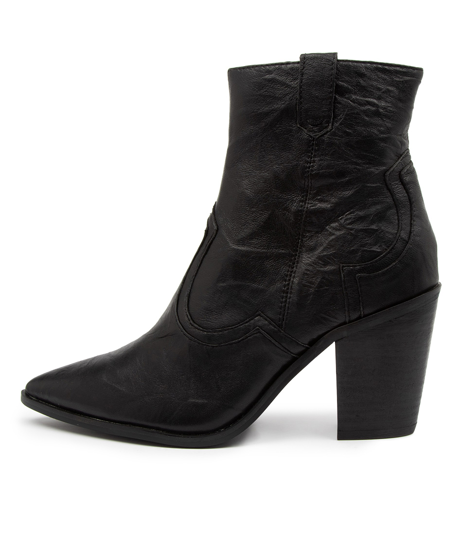 Buy Therapy Territory Th Black Ankle Boots online with free shipping