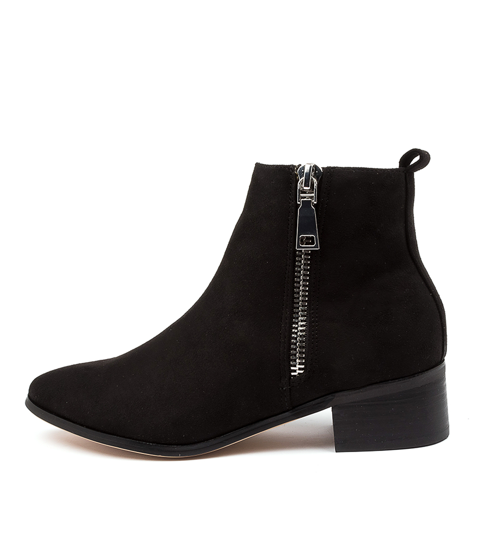 Buy Therapy Felton Th Black Ankle Boots online with free shipping