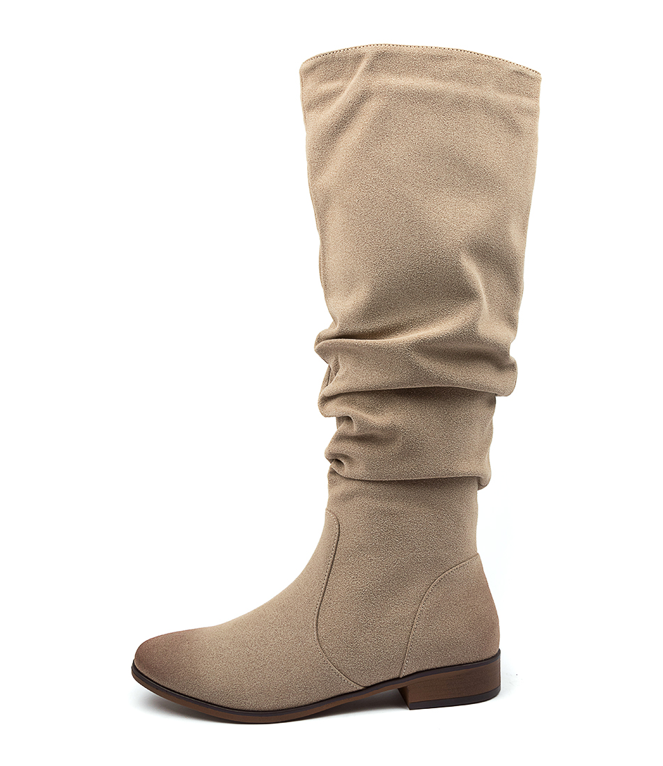 Buy Therapy Rawson Th Taupe Long Boots online with free shipping