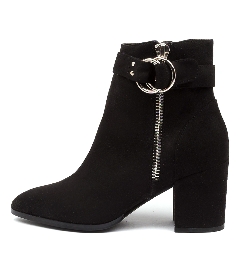 Buy Therapy Ashby Th Black Ankle Boots online with free shipping