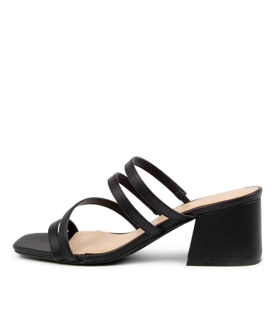 Buy Therapy Gardeena Th Black Heeled Sandals online with free shipping