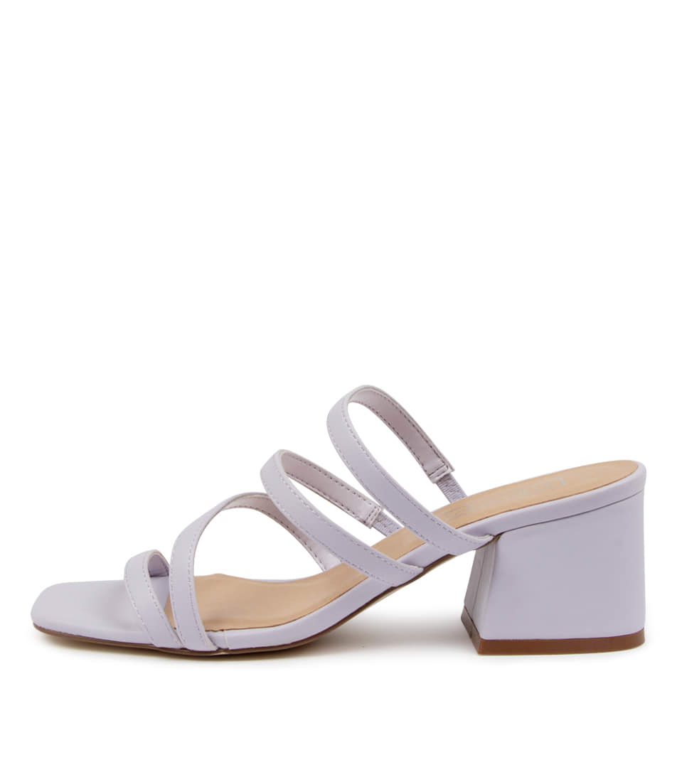 Buy Therapy Gardeena Th Lilac Heeled Sandals online with free shipping
