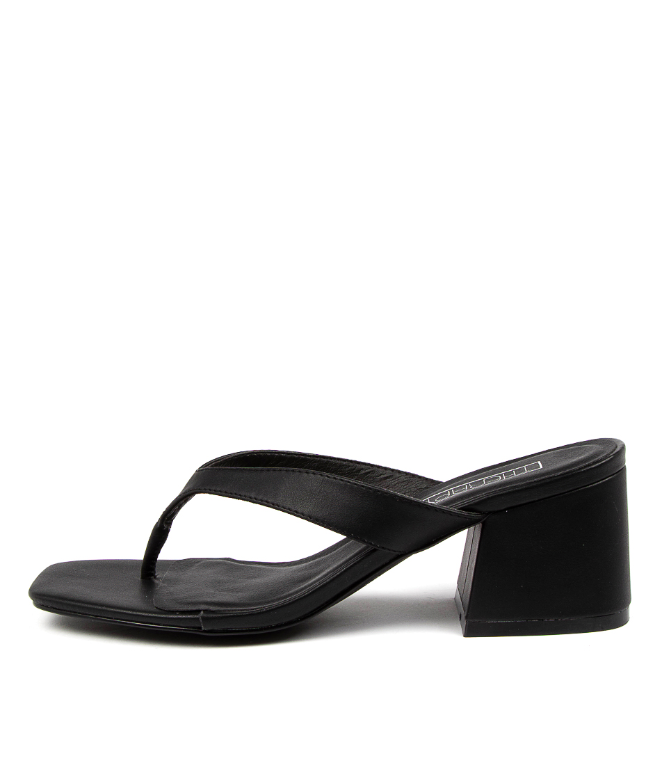 Buy Therapy Treasure Th Black Heeled Sandals online with free shipping