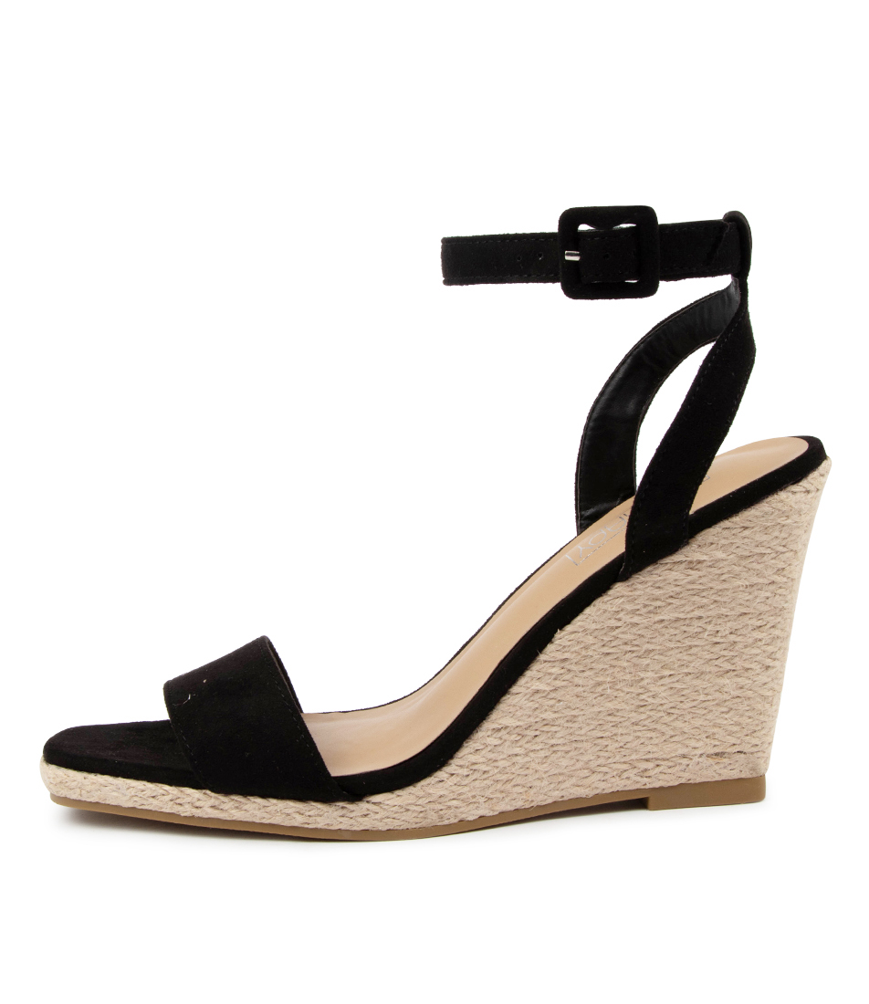Buy Therapy Kienna Th Black Heeled Sandals online with free shipping