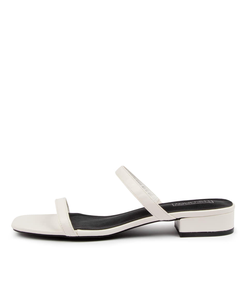 Buy Therapy Beatrix Th White Heeled Sandals online with free shipping