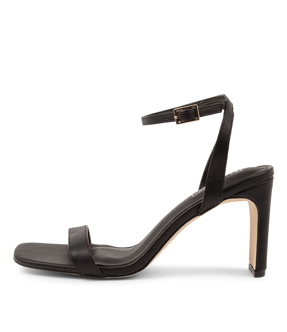 Buy Therapy Lantana Th Black Heeled Sandals online with free shipping