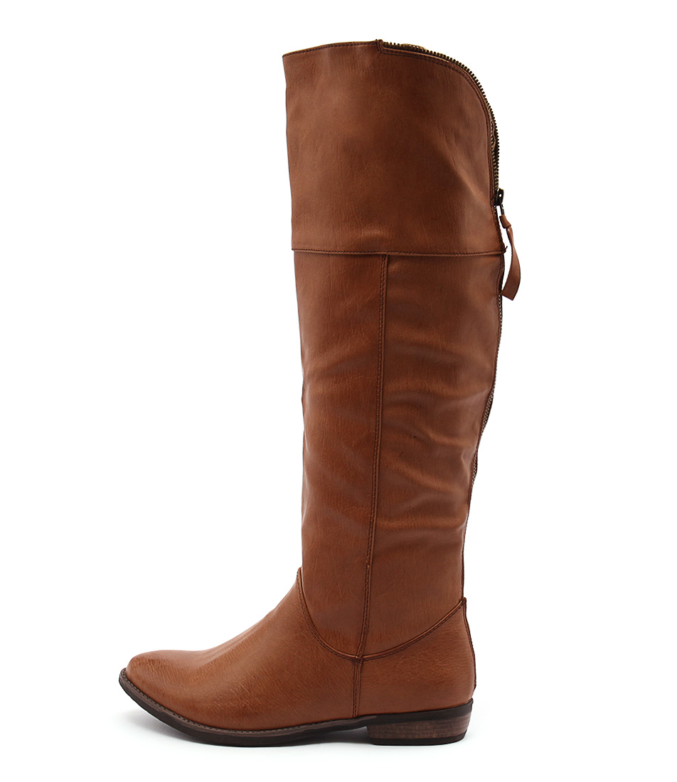 Therapy Holidae Tan Long Boots