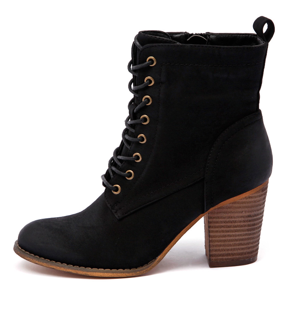 Therapy Florence Th Black Casual Ankle Boots