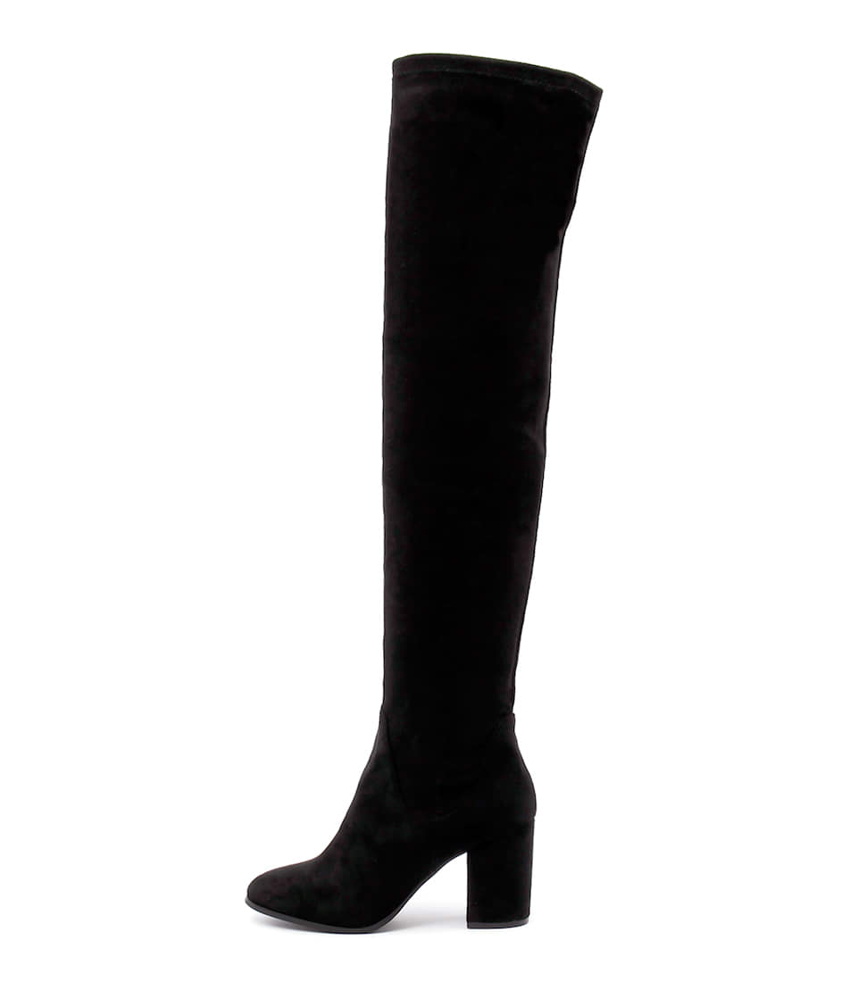 Buy Therapy Hanover Black Long Boots online with free shipping