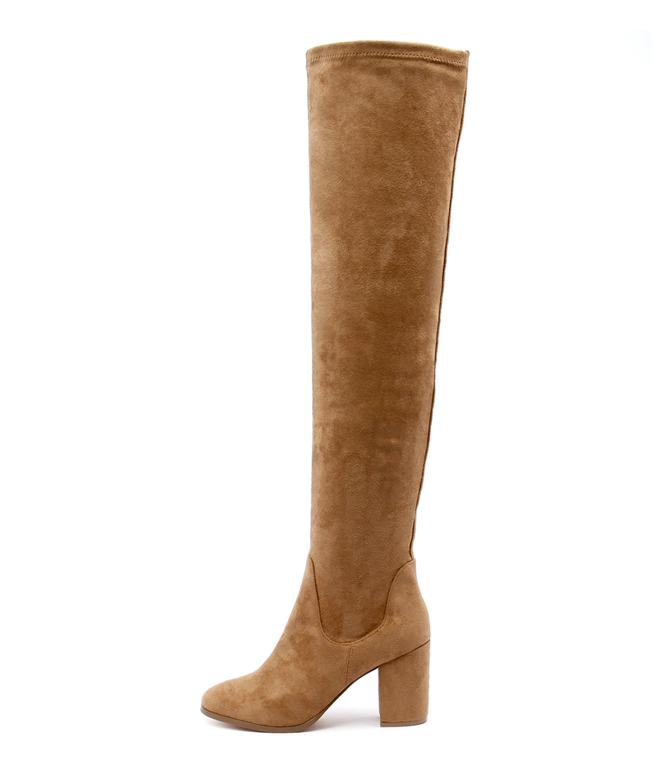 Therapy Hanover Tan Long Boots