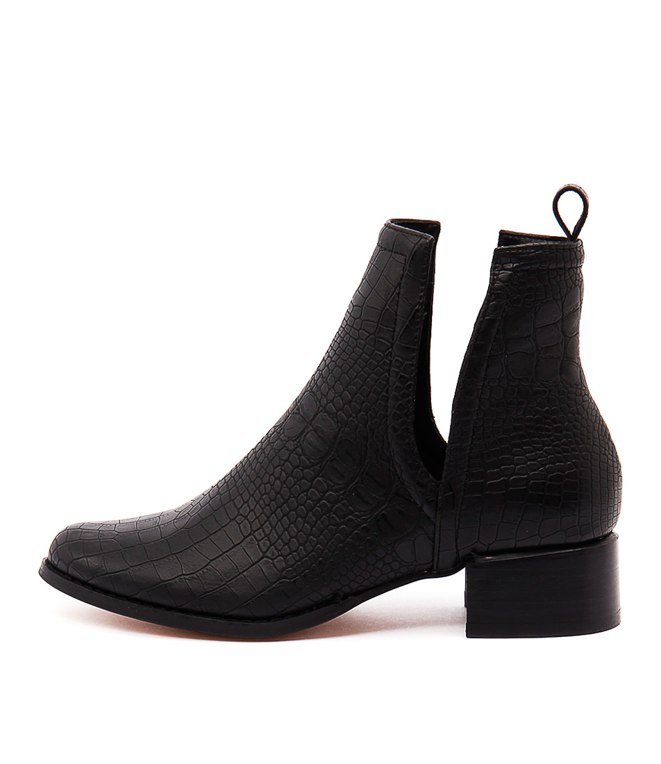 Therapy Nirvana Th Black Casual Ankle Boots