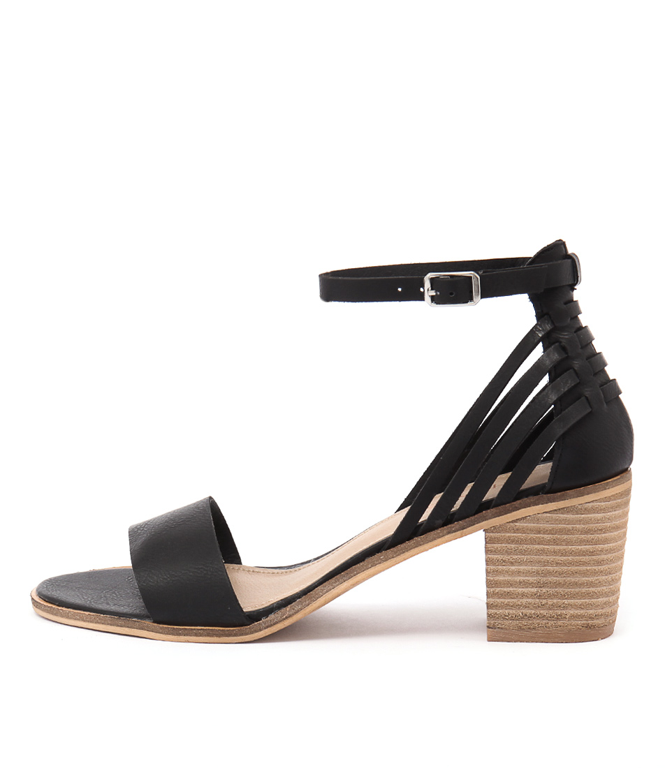 Therapy Dutton Black Sandals