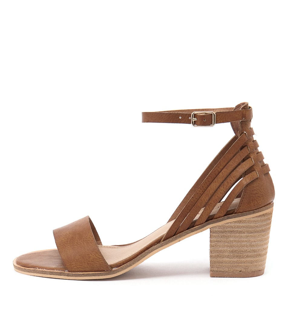 Therapy Dutton Tan Heeled Sandals