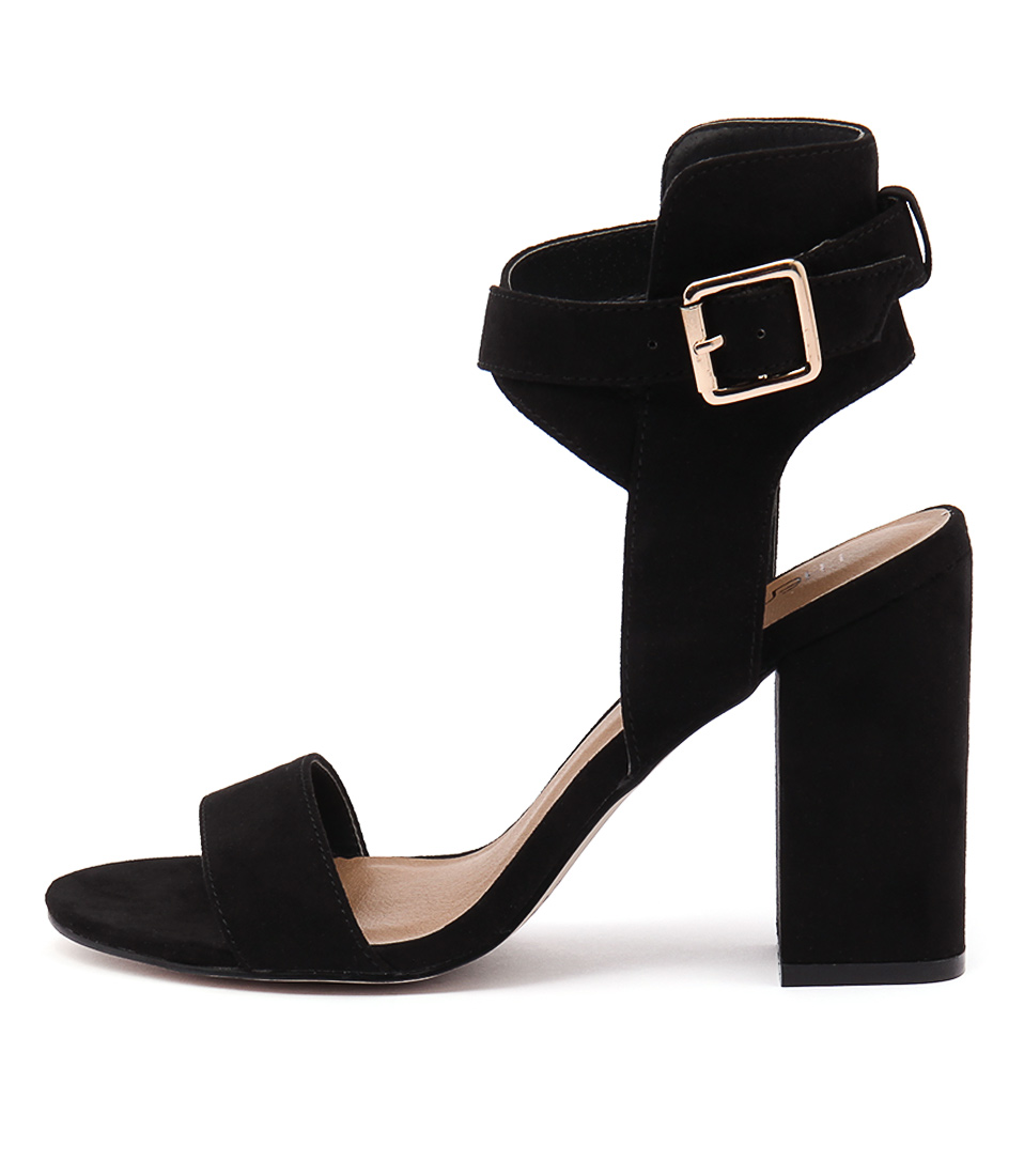 Therapy Collins Black Dress Heeled Sandals