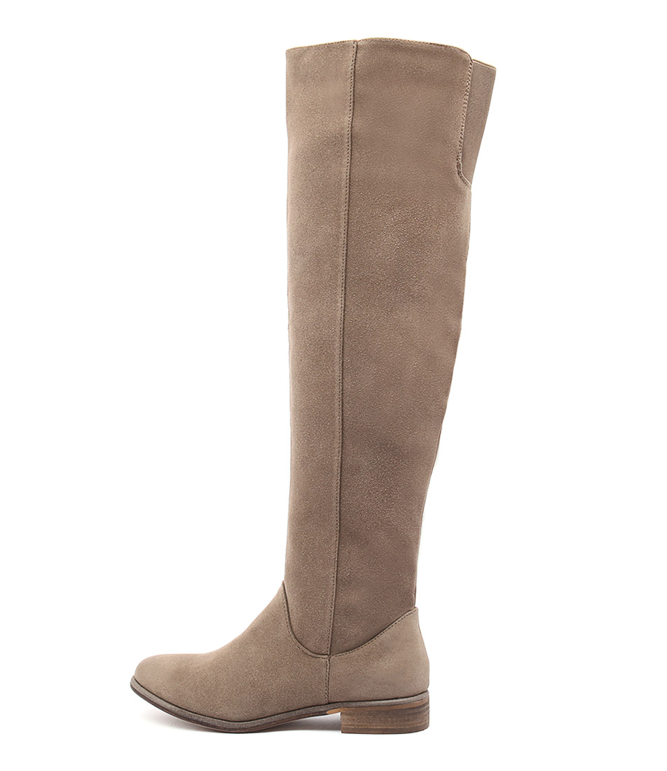 Therapy Walker Th Taupe Long Boots