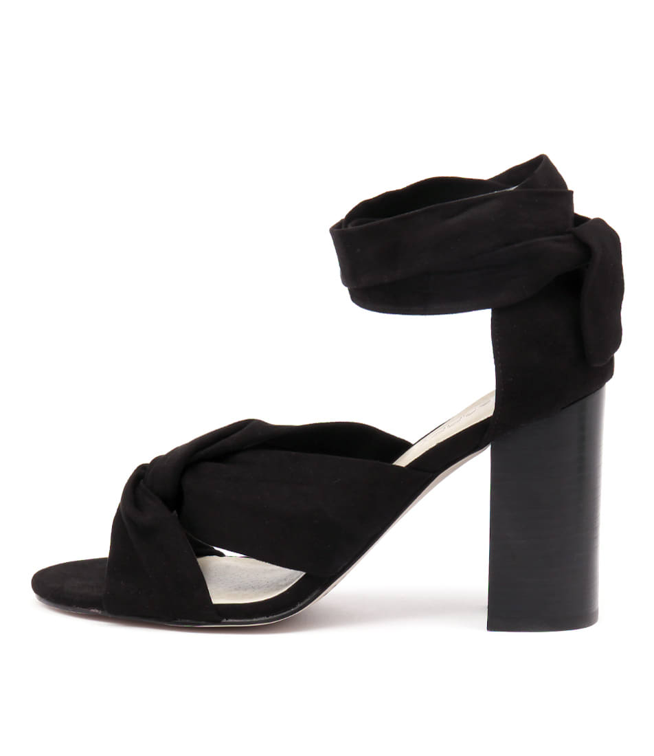 Photo of Therapy Magarita Black Heeled Sandals womens shoes
