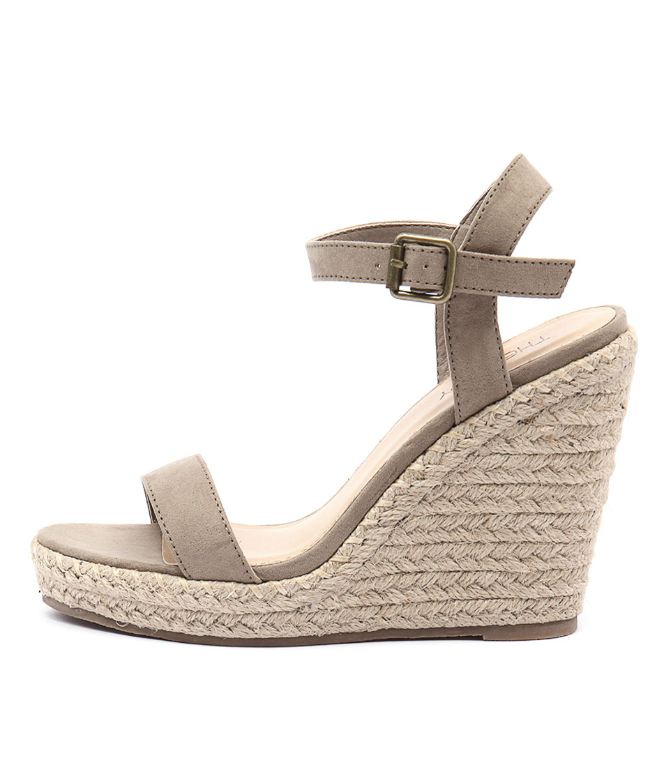 Therapy Grange Th Concrete Casual Heeled Sandals