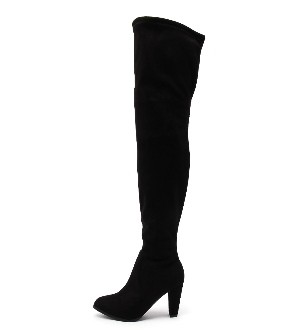Therapy Ambrose Black Long Boots