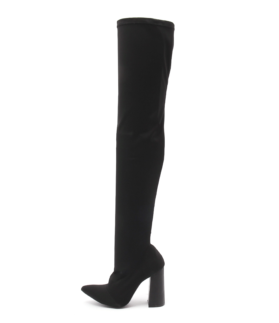 Therapy Sixxty Black Long Boots