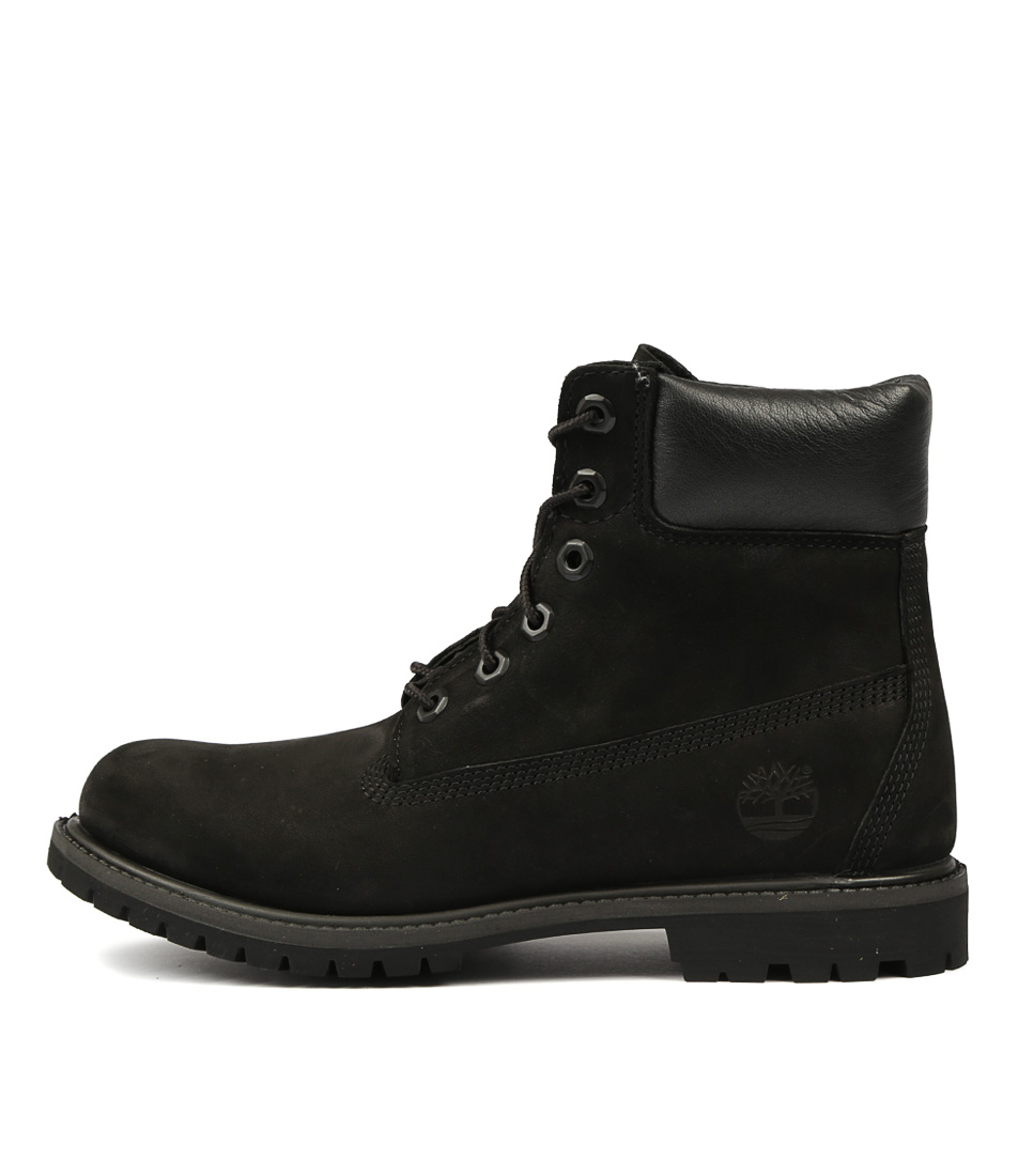 Buy Timberland 6 Premium Icon Black Ankle Boots online with free shipping