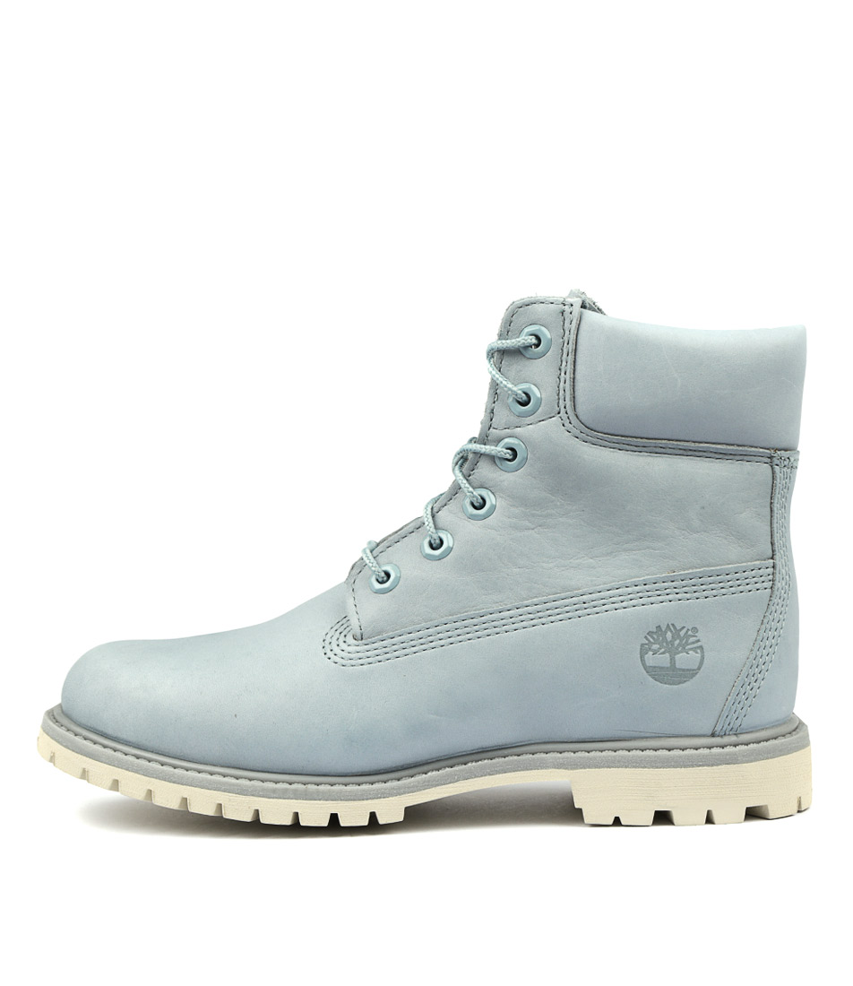 Timberland 6 Premium Icon Boot Women's Light Blue Ankle Boots