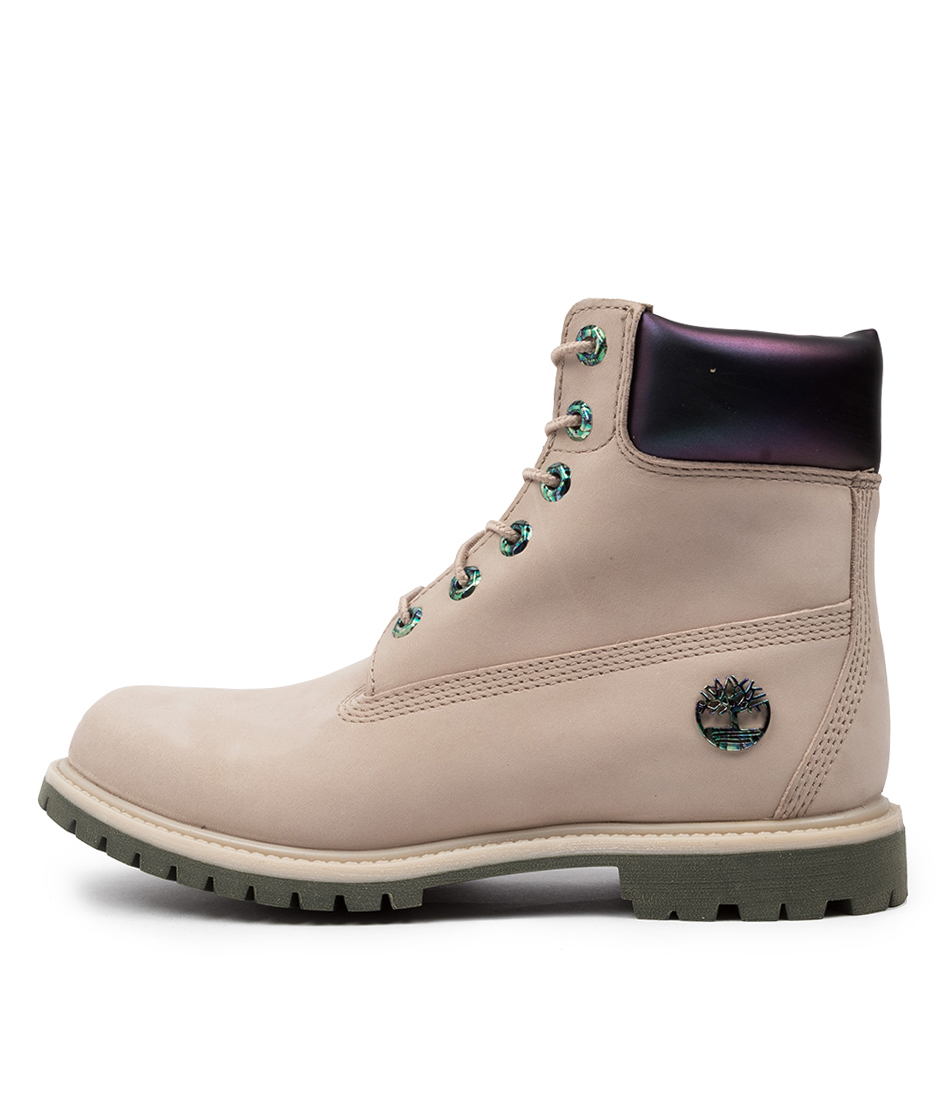 Buy Timberland 6 Premium Icon Taupe Ankle Boots online with free shipping