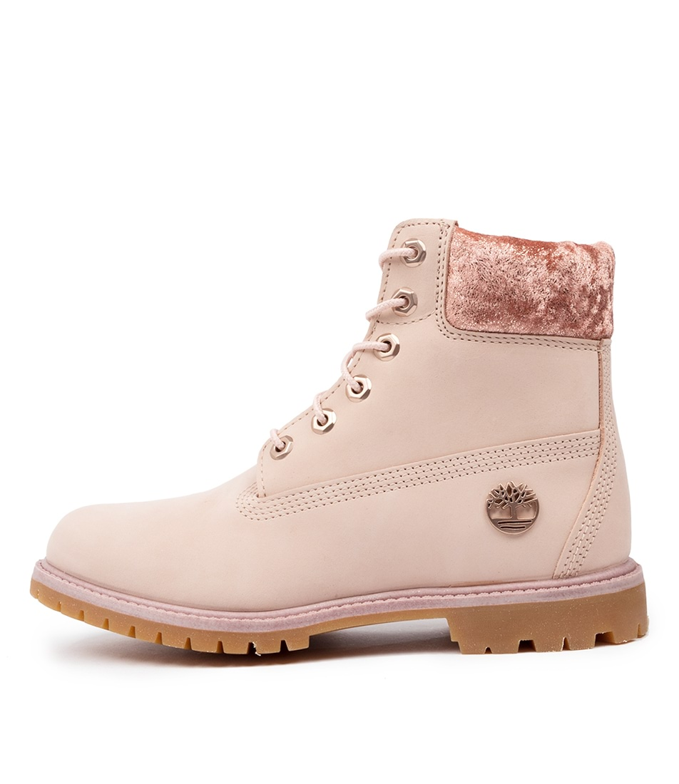 Buy Timberland 6 Premium Icon Light Pink Ankle Boots online with free shipping