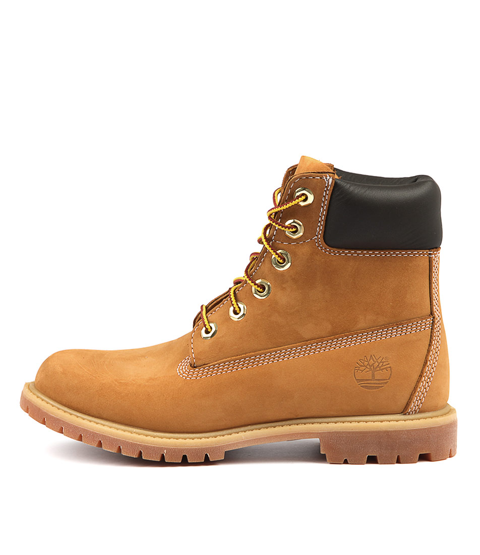 Buy Timberland 6 Premium Icon Wheat Ankle Boots online with free shipping