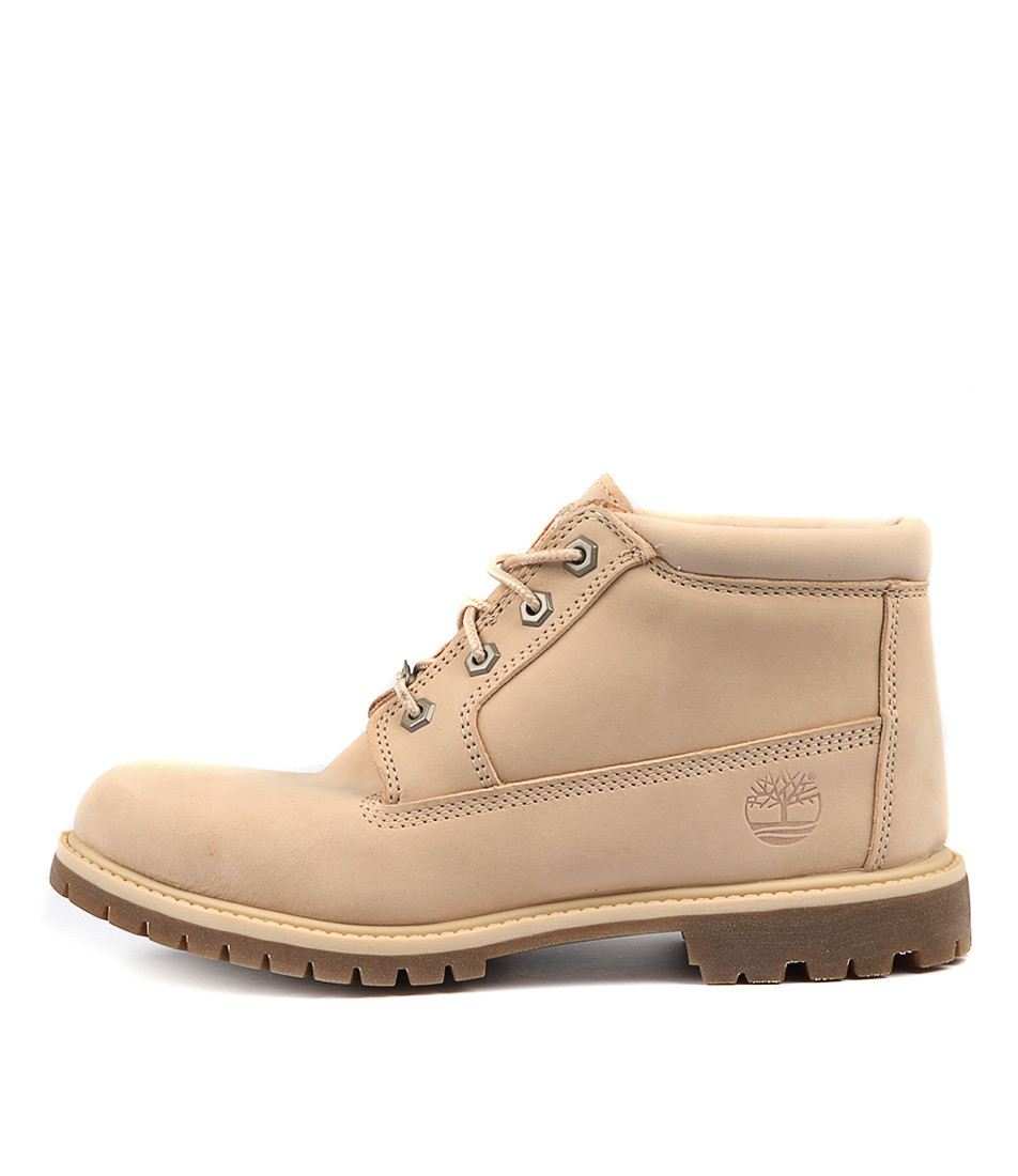 Timberland Nellie Chukka Light Beige Ankle Boots