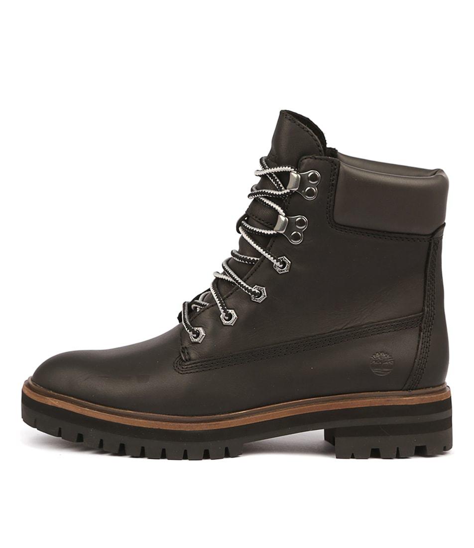 Buy Timberland London Square Black Ankle Boots online with free shipping