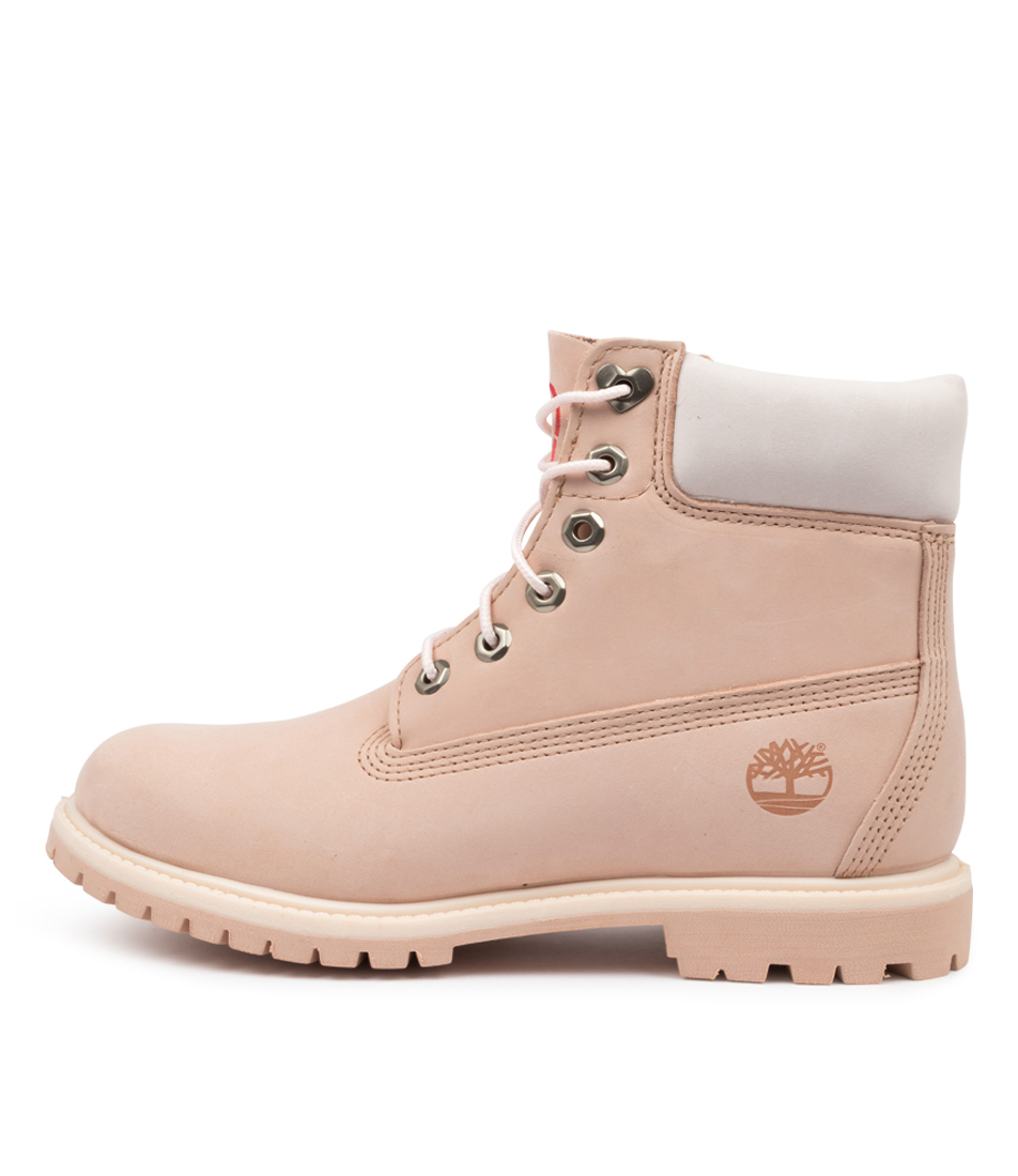 Buy Timberland 6 Inch Premium Boot Womens Tm Light Pink Ankle Boots online with free shipping