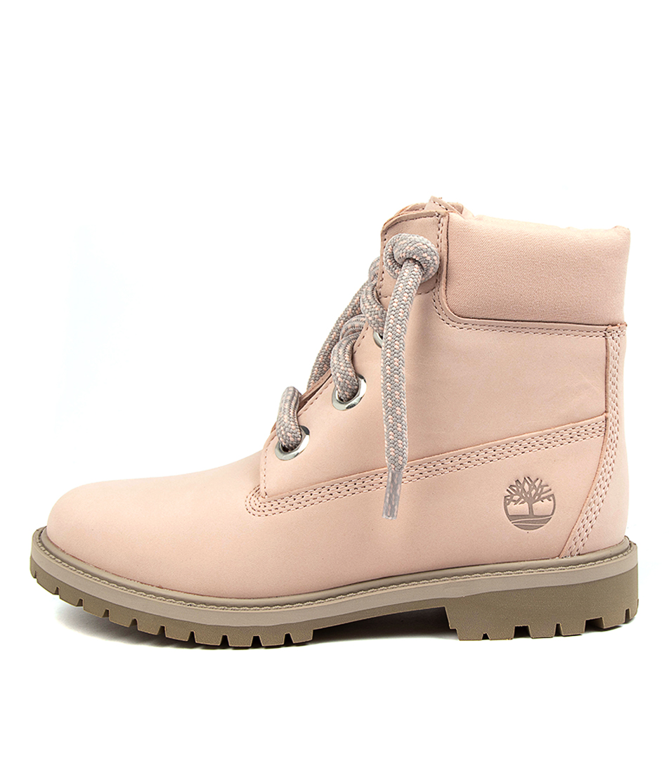Buy Timberland 6 In Conv Lace Boot Womens Tm Light Pink Ankle Boots online with free shipping