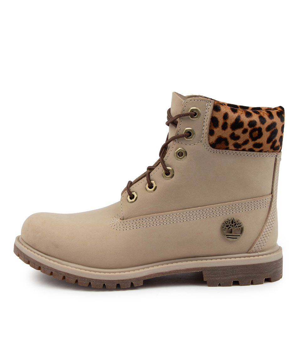 Buy Timberland 6 Premium Icon Boot W Tm Lt Beige Cheetah Ankle Boots online with free shipping
