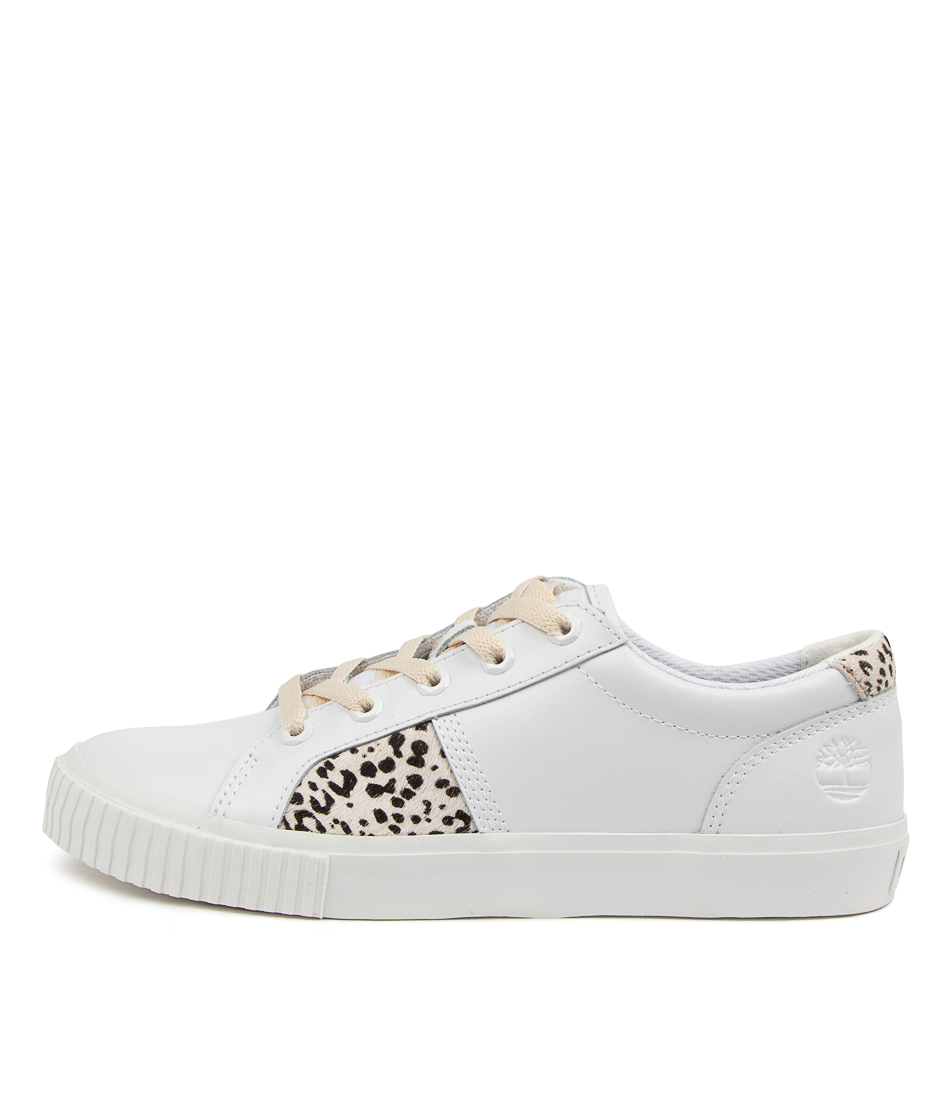Buy Timberland Skyla Bay Oxford Tm White Leopard Sneakers online with free shipping