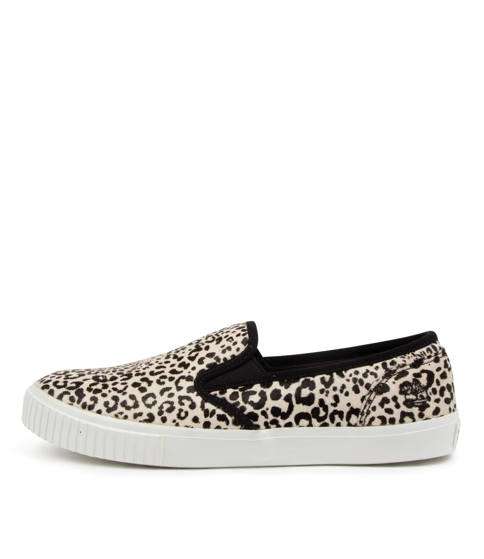 Buy Timberland Skyla Bay Slip On Tm White Leopard Sneakers online with free shipping