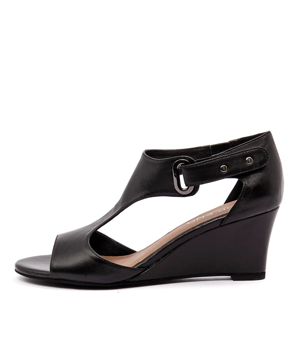 Top End Unico Black Dress Heeled Sandals buy  online