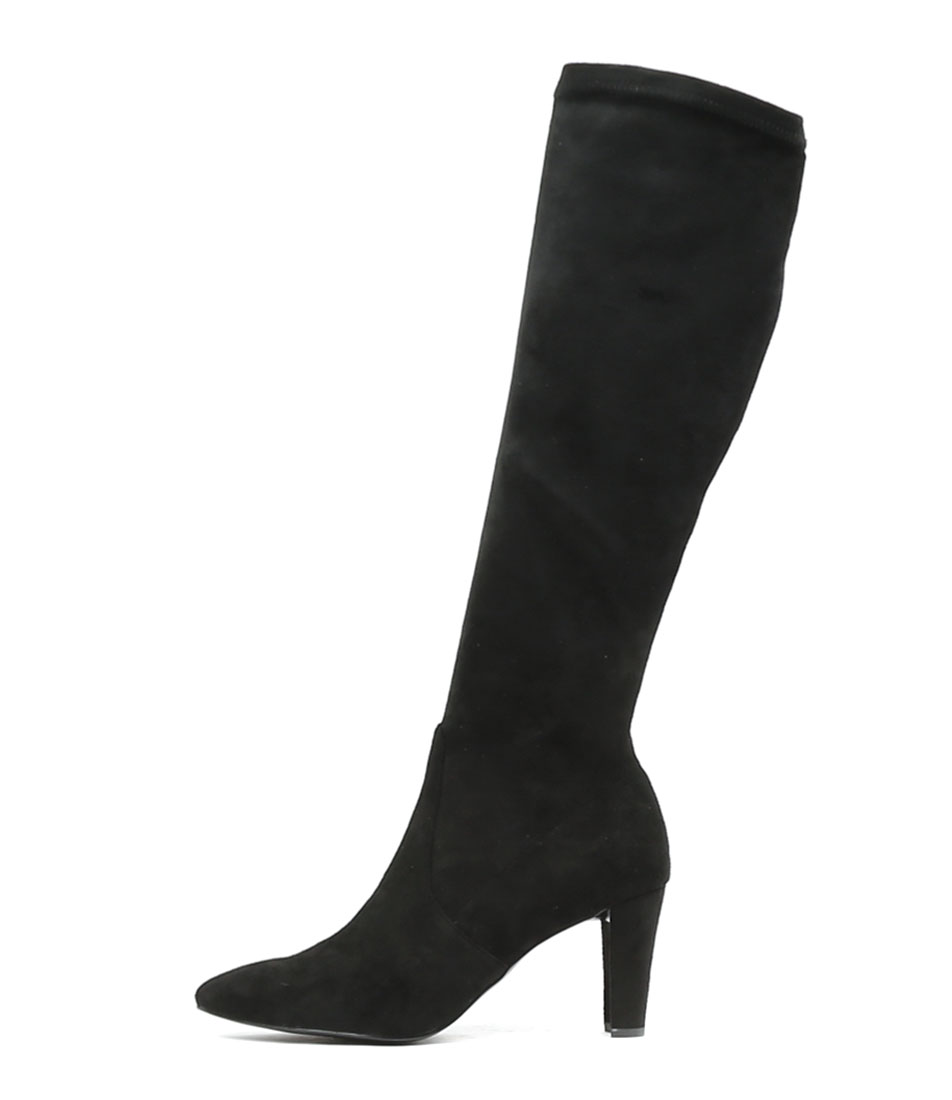 Top End Dither Black Dress Long Boots