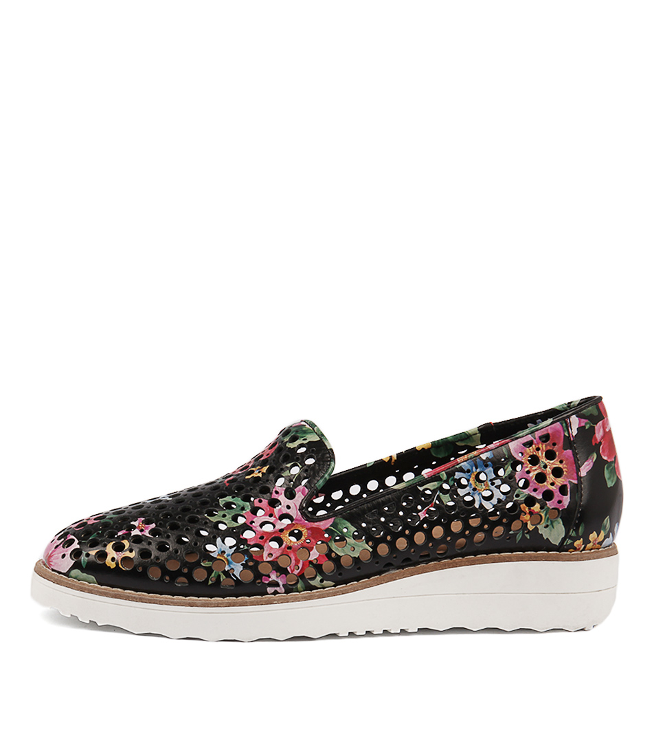 Buy Top End Osta Black Floral Flats online with free shipping