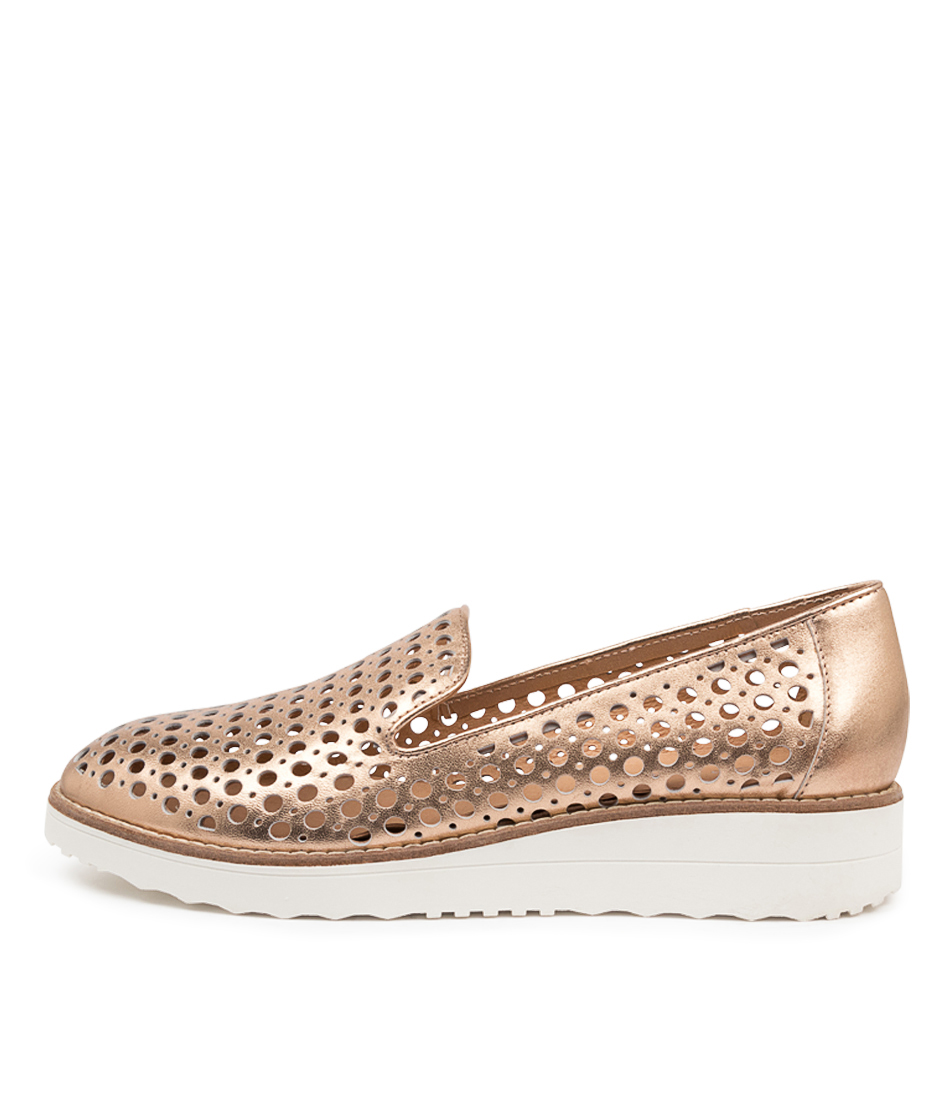Buy Top End Osta Rose Gold Flats online with free shipping
