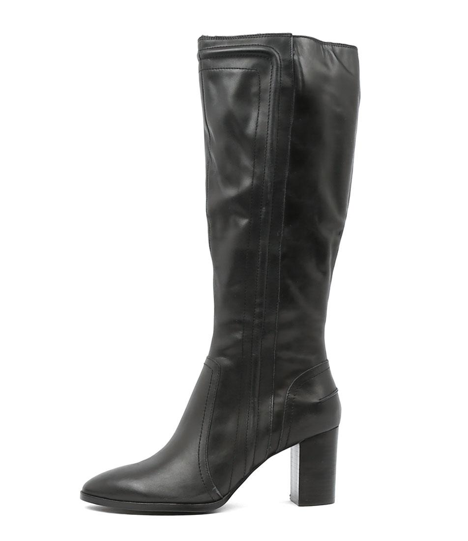 Top End Anita Black Long Boots