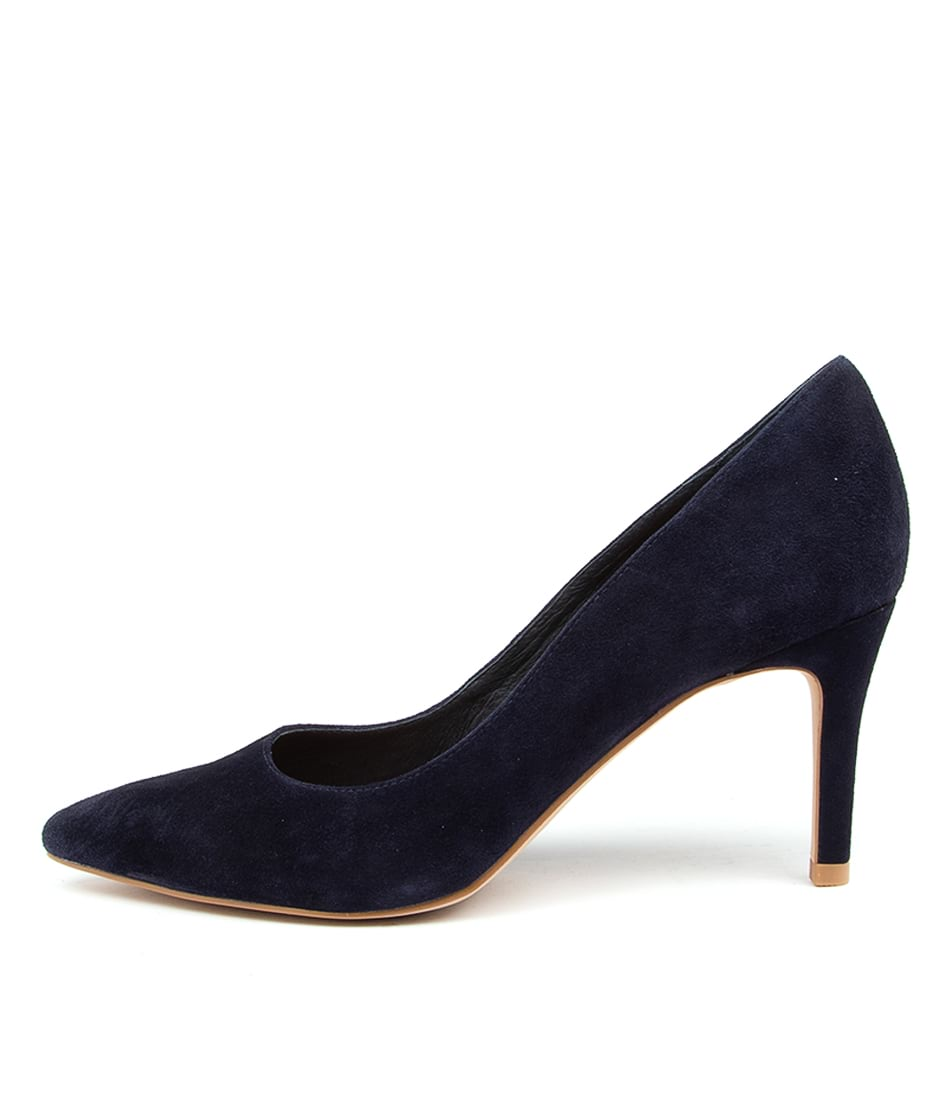 Buy Top End Barrios Navy High Heels online with free shipping