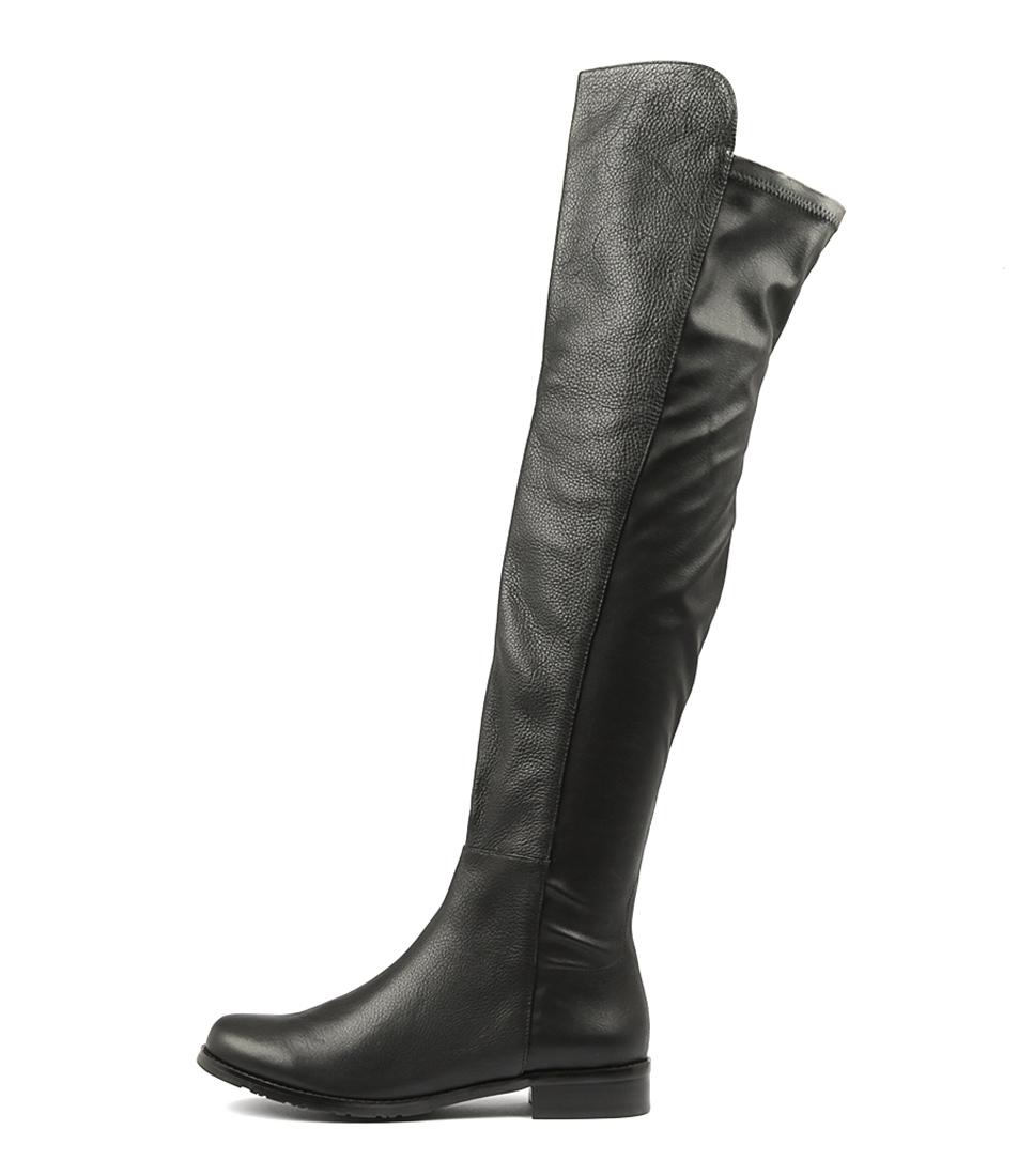 Top End Laco Black Long Boots